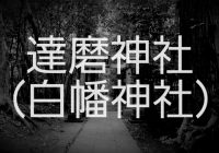 """恐ろしい千葉県屈指の心霊スポット""""達磨神社""""へどあそと‼"""
