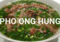 """ホーチミンで、ごはんを食べるなら""""PHO ONG HUNG""""が絶対にオススメ‼"""