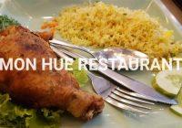 """ホーチミンで御飯を食べるならオススメのフエ料理店""""MON HUE RESTAURANT""""への行き方k"""