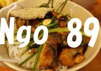 """旅のプロ推薦!ホーチミン市内でベトナム料理を食べるなら絶対にココっ!""""Ngo 89""""への行き方"""