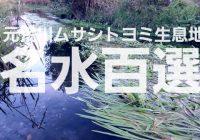 埼玉県熊谷市の平成の名水百選に選ばれた「元荒川ムサシトヨミ生息地」を徹底解説!!