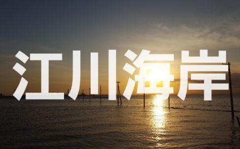 千葉県木更津市にある日本のウユニ塩湖『江川海岸』へ潜入調査!!
