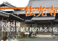 朝鮮出兵前に太閤自らお手植えした桜が残る名護屋城『法光寺』に行ってみた